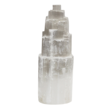 Load image into Gallery viewer, Natural Selenite Tower Lamp