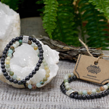 Load image into Gallery viewer, Amazonite Magnetic Gemstone Bracelet