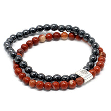 Load image into Gallery viewer, Redstone Magnetic Gemstone Bracelet