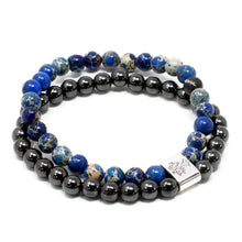 Load image into Gallery viewer, Magnetic Gemstone Bracelet