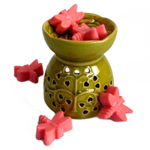 Load image into Gallery viewer, Tree of Life Oil Burner - Lime