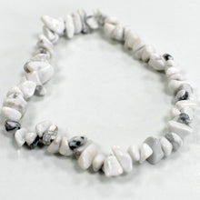 Load image into Gallery viewer, White Jasper Chipstone Bracelet