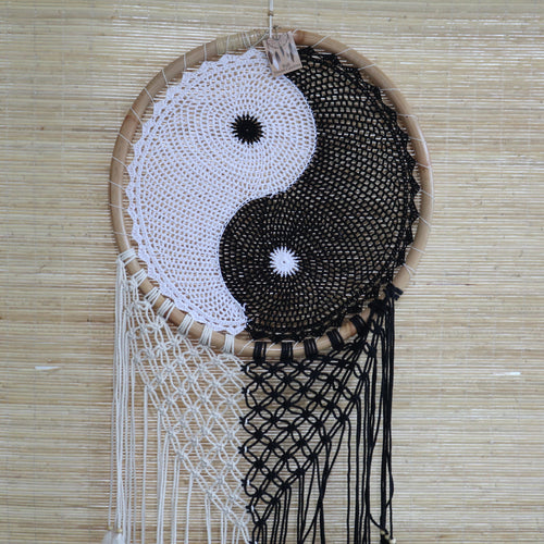 Extra Large Yin + Yang Dream Catcher