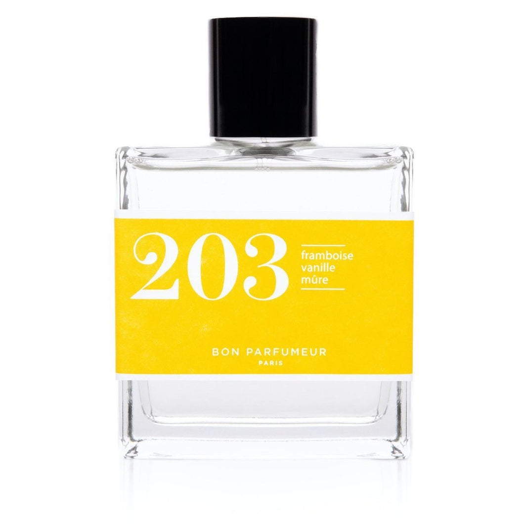 Eau de parfum 203: raspberry, vanilla and blackberry 30ML