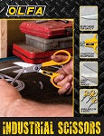 OLFA Industrial Scissors Product Sell Sheet