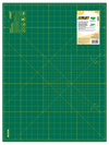 "OLFA 18""x24"" Double-Sided, Self-Healing Rotary Mat, packaging"