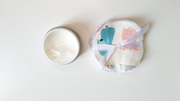 Washable Facial Disks Bamboo // Round 16