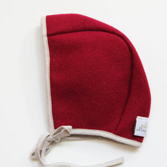 Burel Bonnet Fuschia 3-6m
