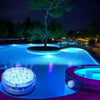 16 Colors Submersible LED Pool Lights Remote Control