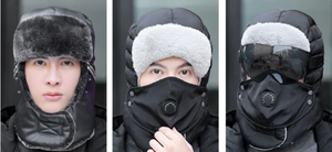 2021 Winter Outdoor Windproof Warm  Snow Hat