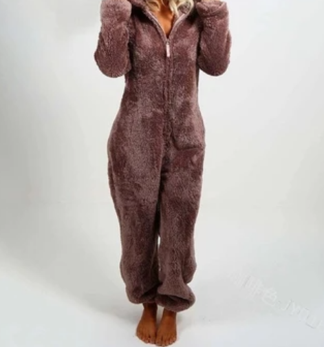 Premium Winter Warm Furry Onesie