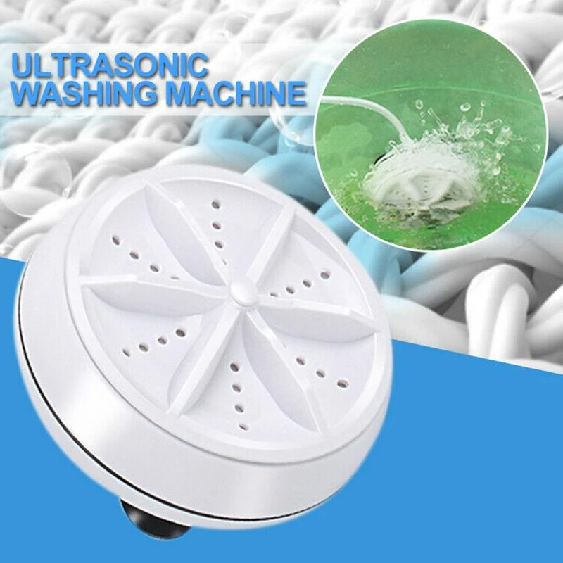 🔥🔥🔥Portable Ultrasonic Washing Machines(Suitable for bowls, clothes, glasses, fruits, vegetables and tea sets)