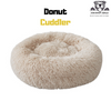 Soft Velvety Calming Bed | DONUT CUDDLER