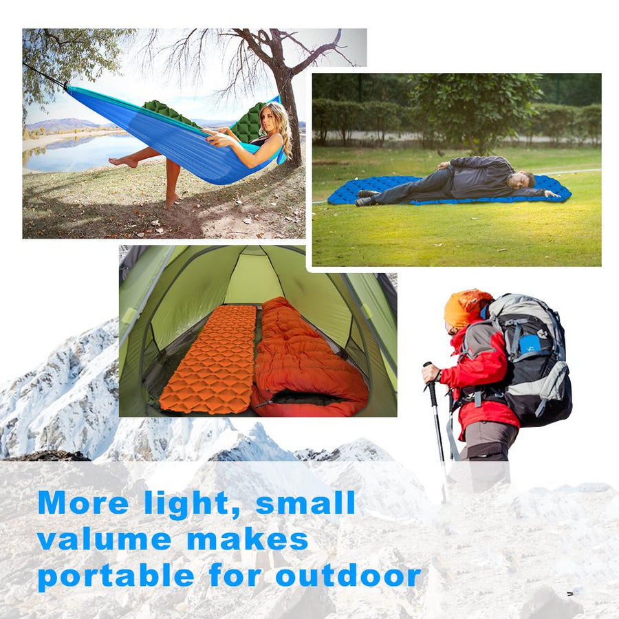 Outdoor Inflatable Mattress Diamond Ultra-Light Camping Mat