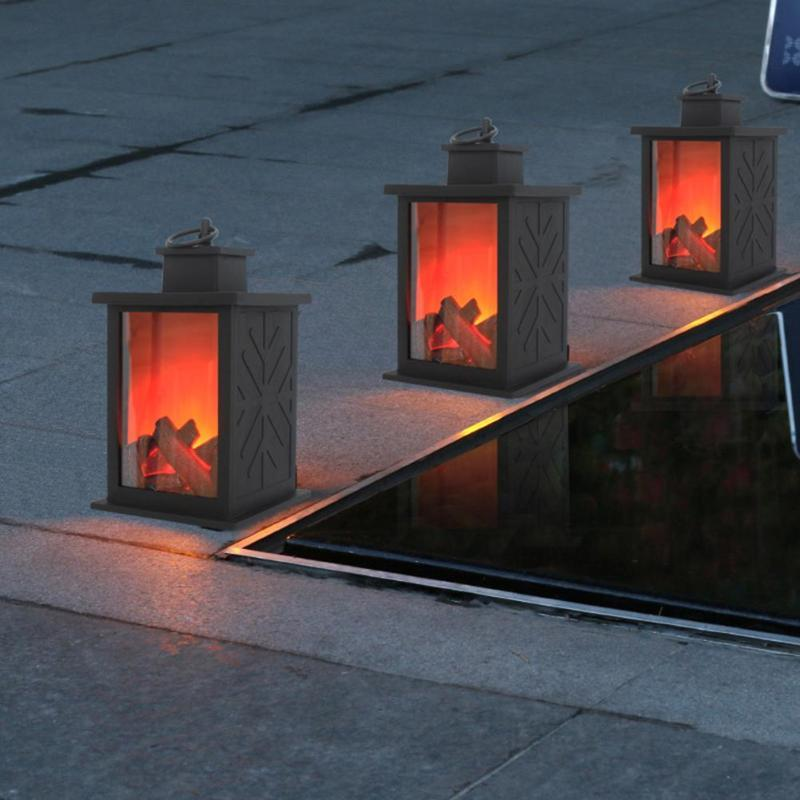 LED Simulated Fireplace Flame Lamps Flame Effect Light