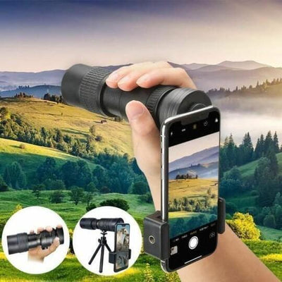2021 New Nano Tech 4K 10-300X40mm Super Telephoto Zoom Monocular Telescope 50% OFF
