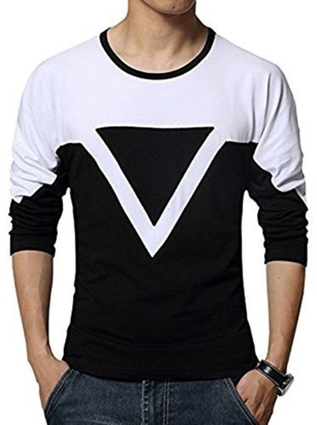 Seven Rocks  Multicoloured Trendy Cotton Round Neck T Shirt - pricegrill.com