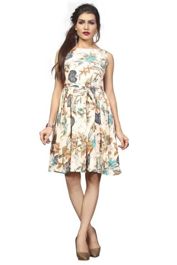 Western Frock Party Wear One Piece Dress For Women & Girls