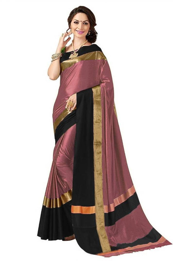 Cotton silk Sarees With Blouse - pricegrill.com