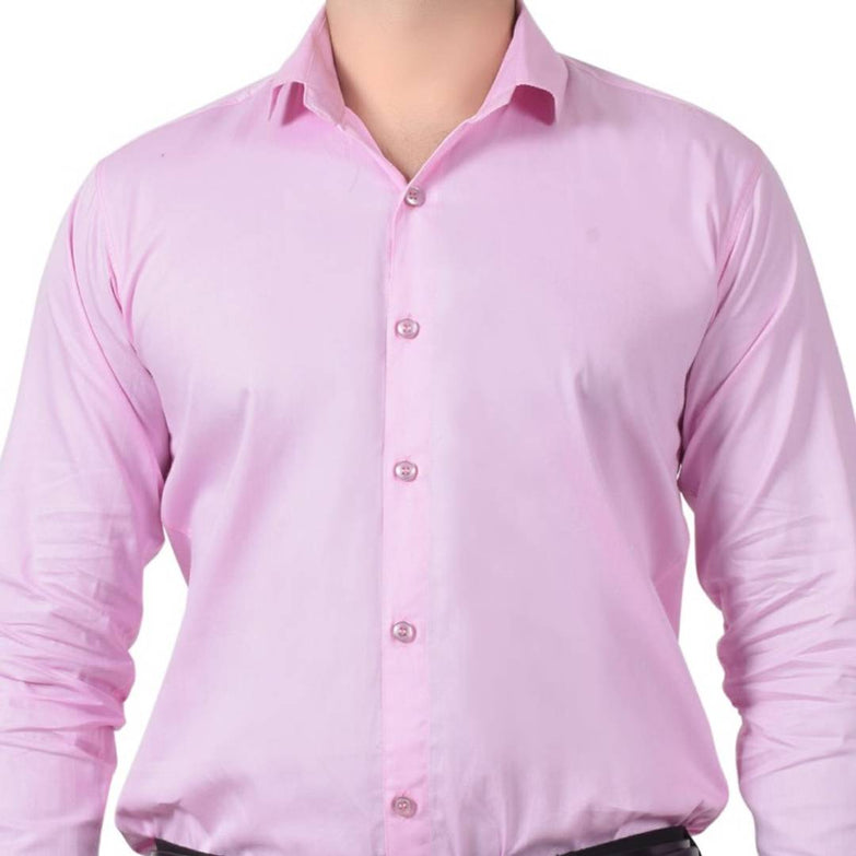 Stylish Cotton Solid Formal Shirt For Men - pricegrill.com