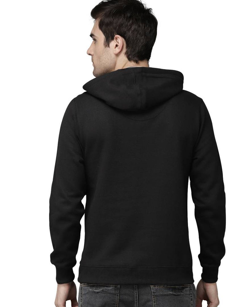 Full Sleeve CAMERA Print Hooded Sweatshirt For Mens