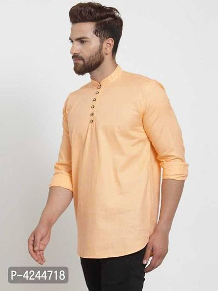 Men Casual Cotton Kurta For Men - pricegrill.com