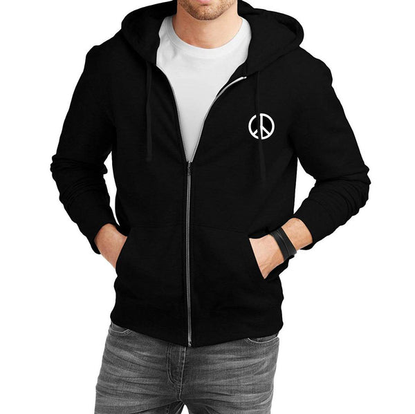 Trendy Cotton Full Sleeve Sweatshirt Hoodie Jacket For Men