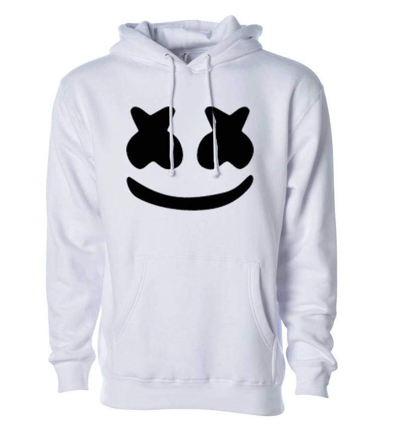 Unisex Regular Fit marchamalo Printed Cotton Hoodie