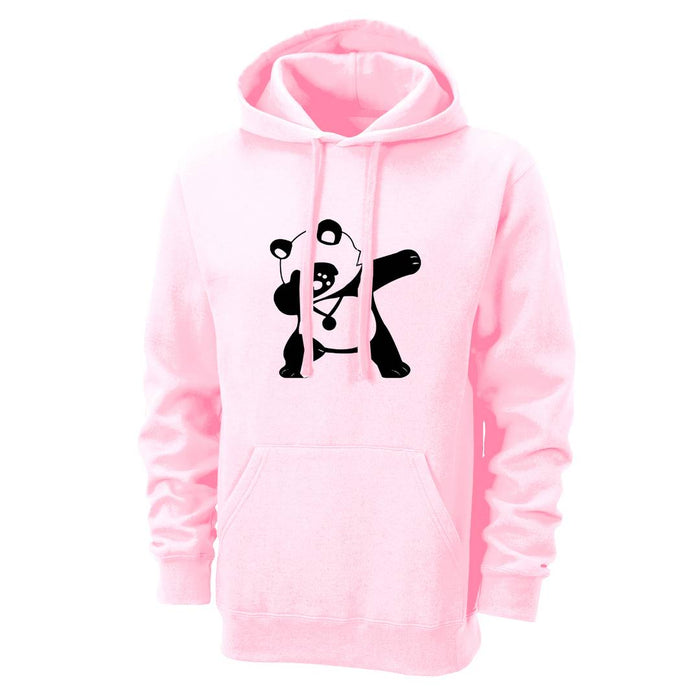 Men's Pink Cotton Blend Printed Long Sleeves Regular Hoodies