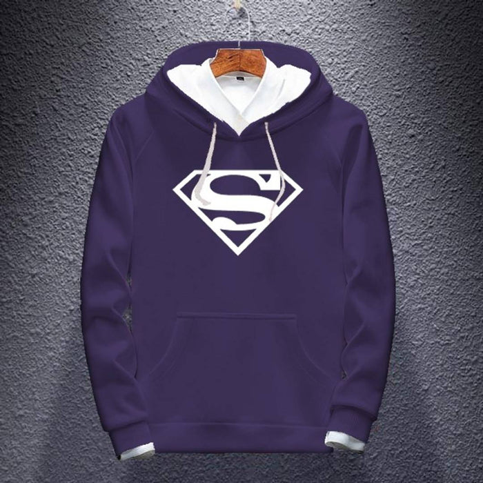 Superman Printed 3-Thread Hoodie