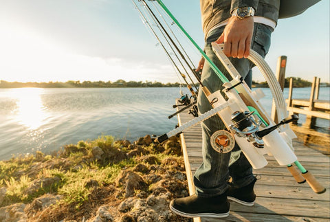 YouTube Celebrities and Influencers with Rod Runner Products - New Fishing Rod Carry, Store and Holding System by Rod Runner USA