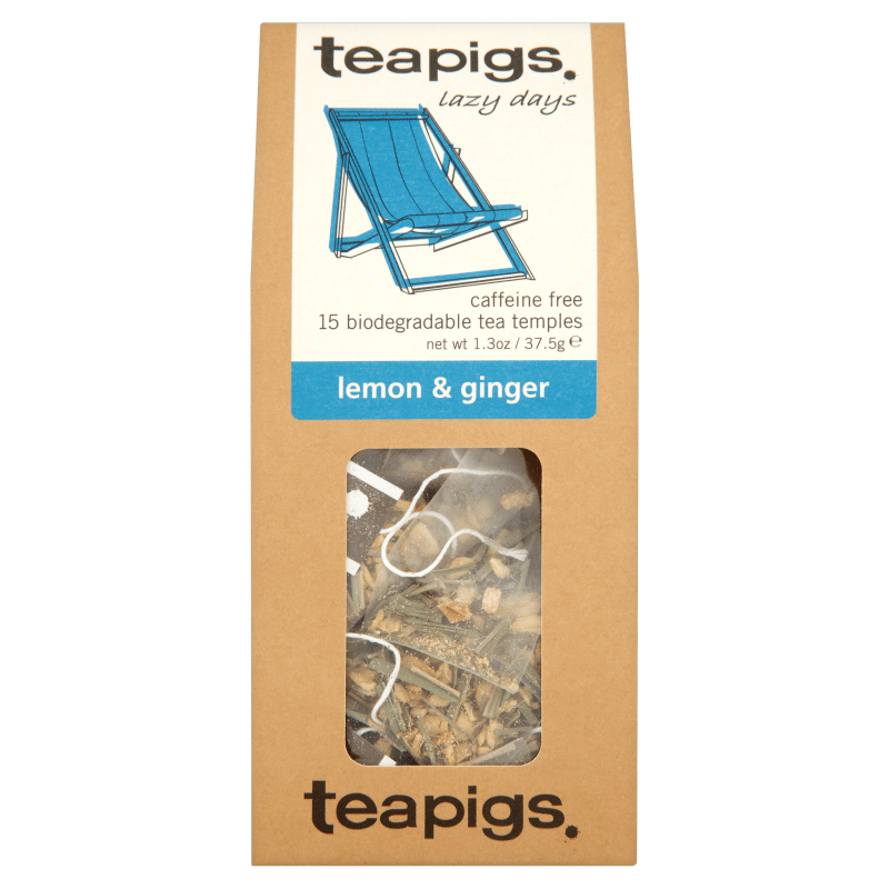 Te Lemon and Ginger, te fra teapigs