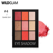 Load image into Gallery viewer, Wildglam Matte Eyeshadow Palette
