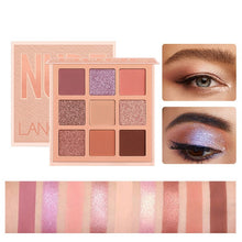 Load image into Gallery viewer, Wildglam Nude Eyeshadow Palette