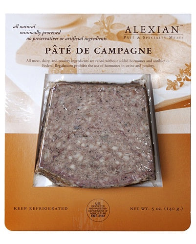 Alexian Pate de Campagne, 5 oz., Local Pickup & Delivery Only