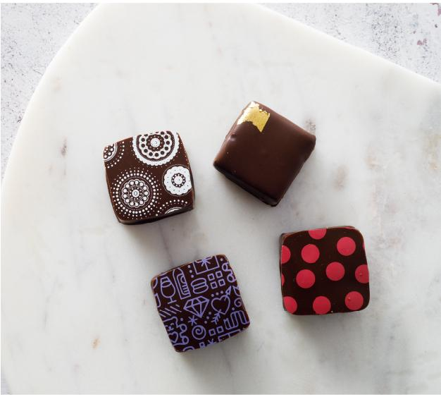 Cocoa Dolce 4-Piece Cupid's Collection Box of Chocolates, Local Pickup & Delivery Only