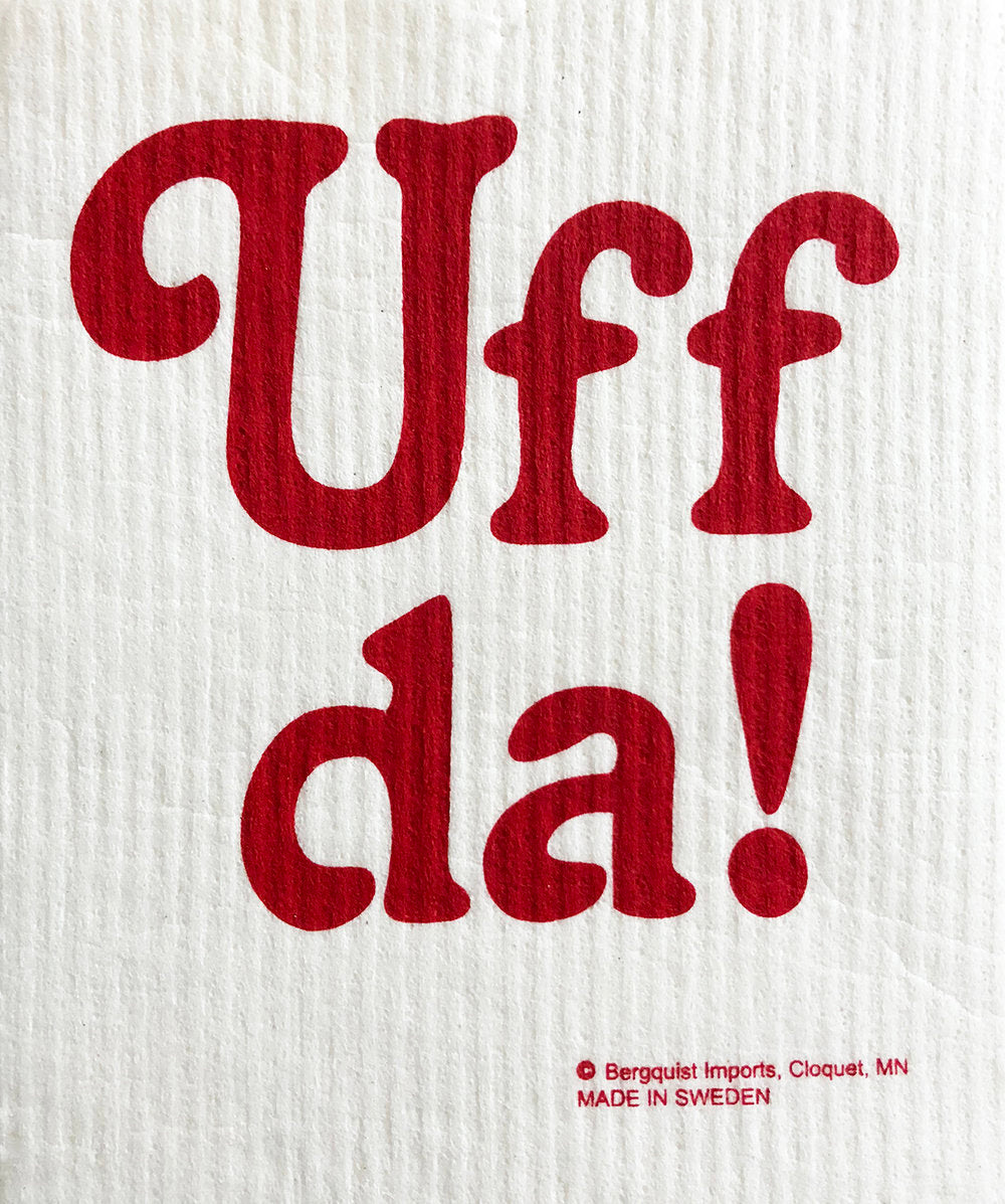 Uff da! Swedish Cellulose Dishcloth