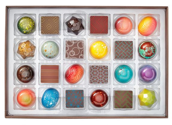 Christopher Elbow 24-piece Box of Chocolates, Local Pickup & Delivery Only
