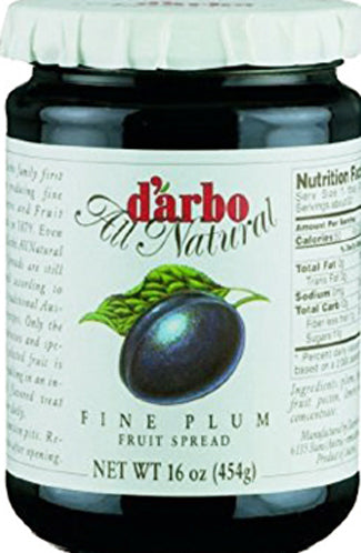 d'arbo Fine Plum Fruit Spread