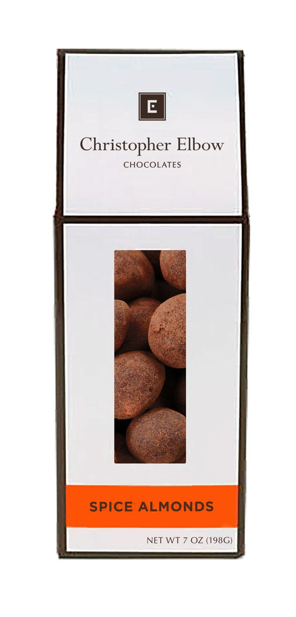 Christopher Elbow Dark Chocolate Spiced Almonds