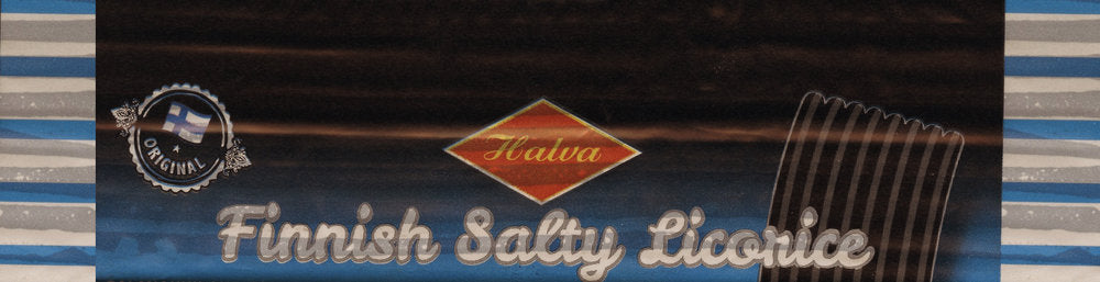 Halva Salty Licorice Bar