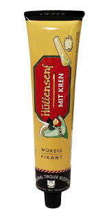 Tiroler Hot Mustard with Horseradish, 200 grams
