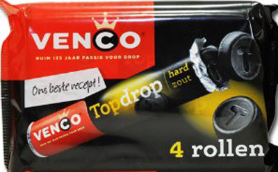 Venco Top Drop Licorice