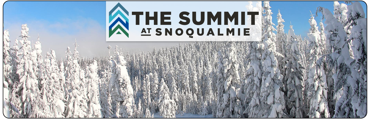 The Summit at Snoqualmie Ski Resort Washington Logo Clothing and Gear at Boyne Country Sports