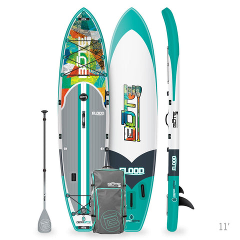 FLOOD AERO INFLATABLE PADDLE BOARD 11' NATIVE PATCHWORK