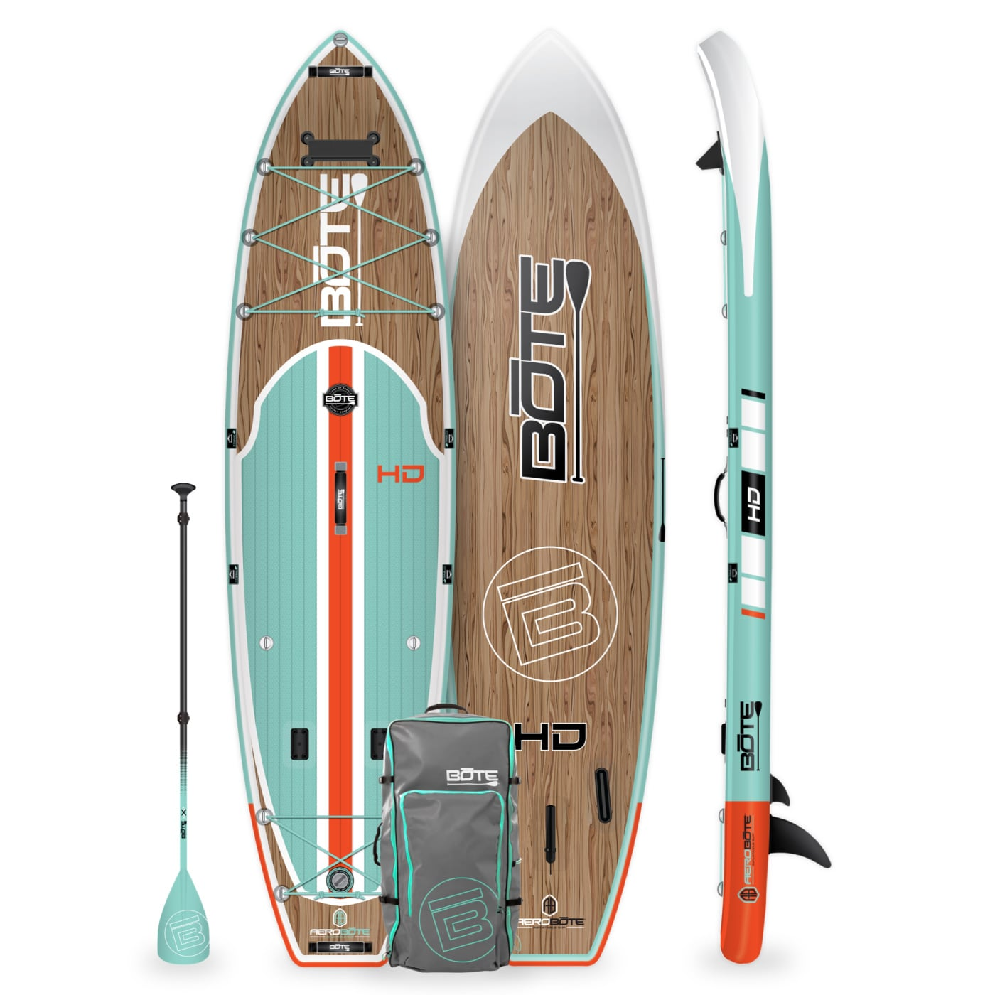 Bote HD Aero Inflatable Stand Up Paddle Board