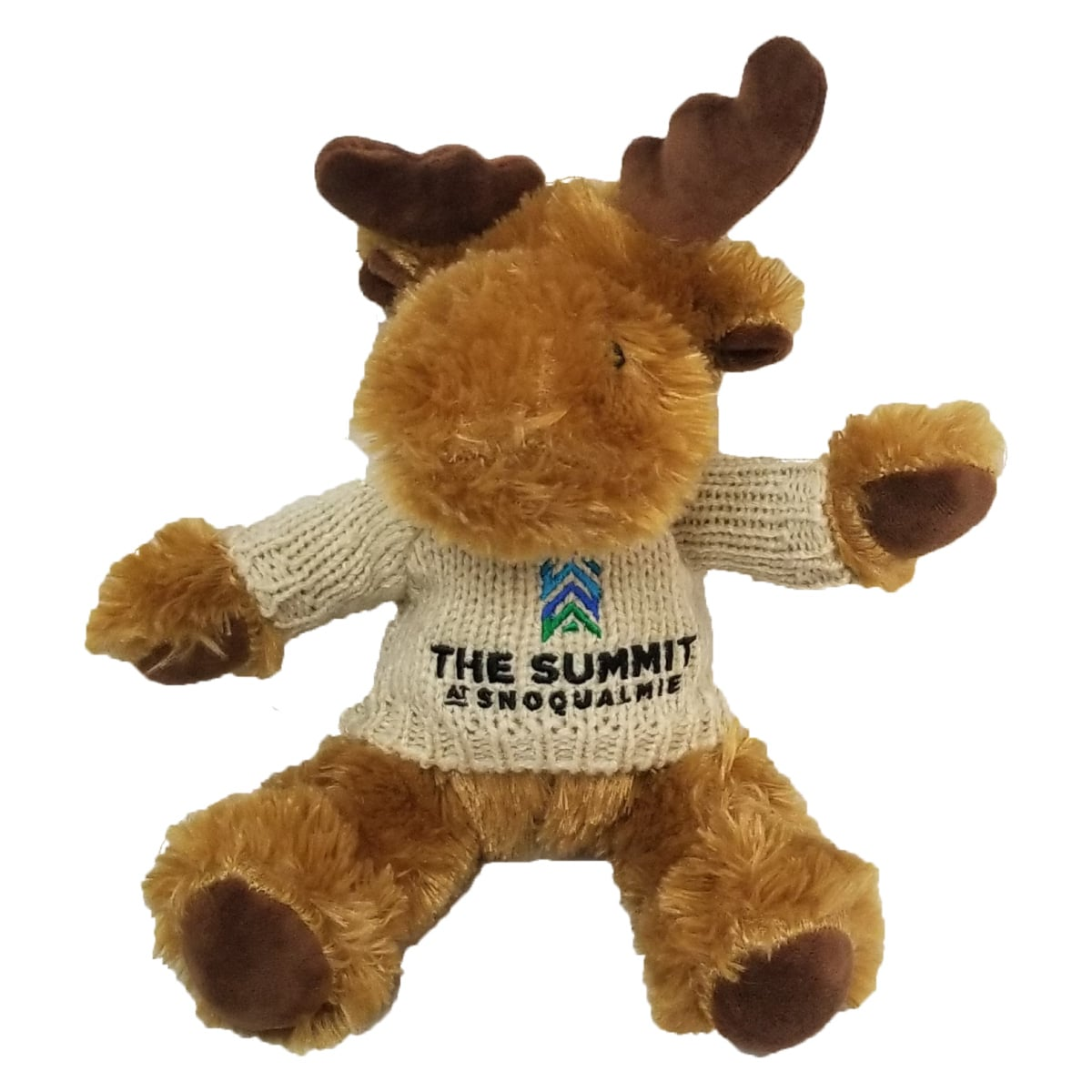 The Summit at Snoqualmie Resort Logo Plush Animal