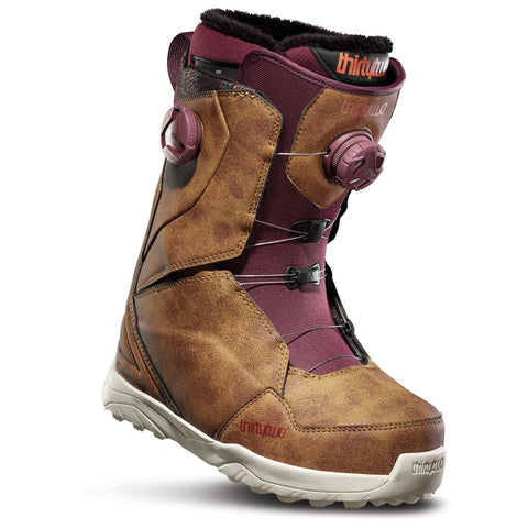 ThirtyTwo Women's Lashed Double BOA Boot Brown