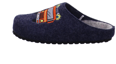 Supersoft Clog blau kombi Bild1