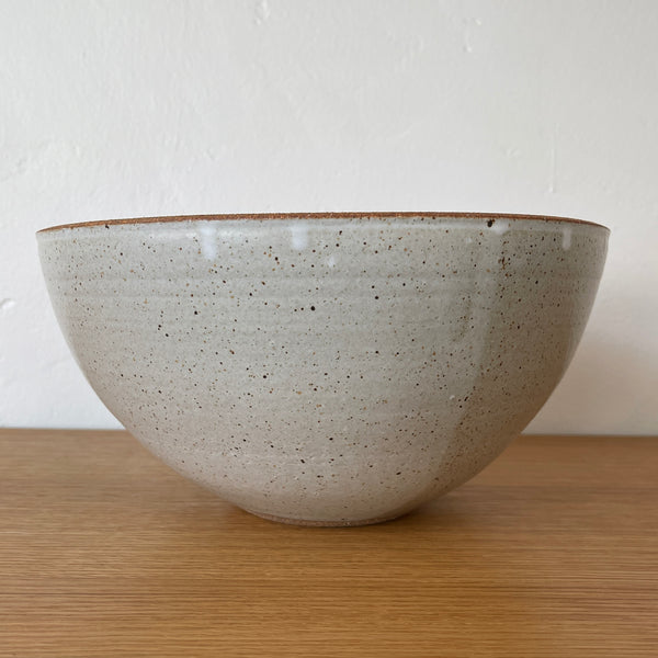 Speckled Ivory Serving Bowl - Large